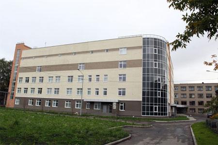 Хирургический корпус больницы